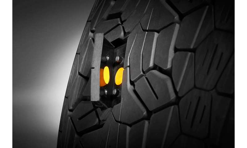 Tire concepts focus on monitoring and adapting for safety