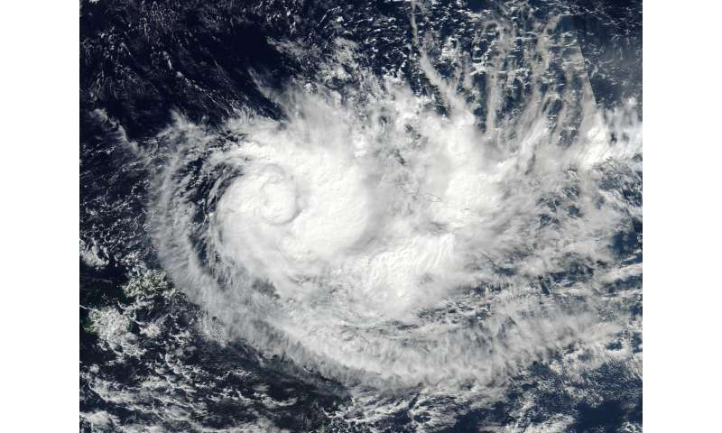 Tropical Cyclone Ella wrapped in NASA imagery