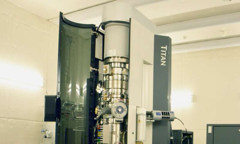 Water without Windows: Capturing Water Vapor inside an Electron Microscope