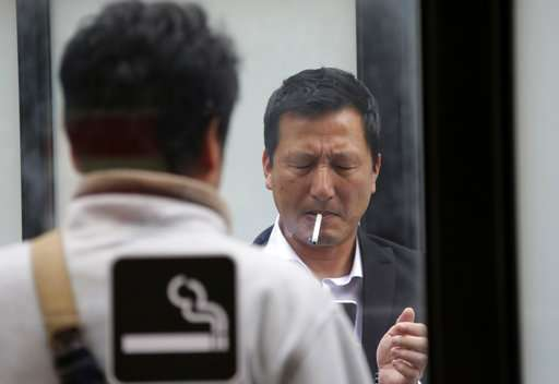 WHO: Japan needs anti-smoking law ahead of Tokyo Olympics