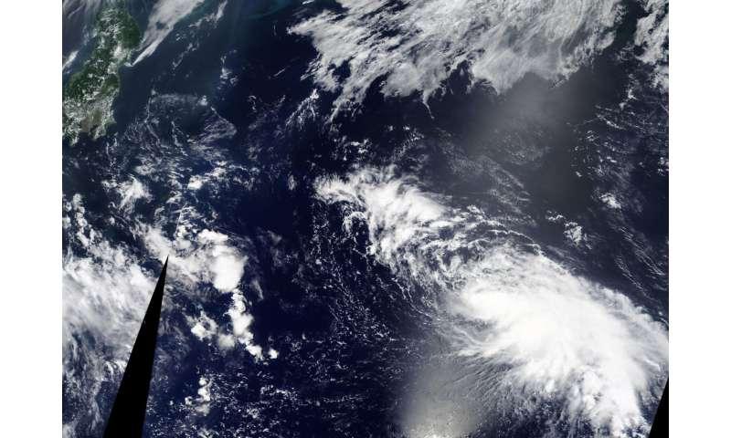 NASA sees Tropical Storm Noru east of Japan