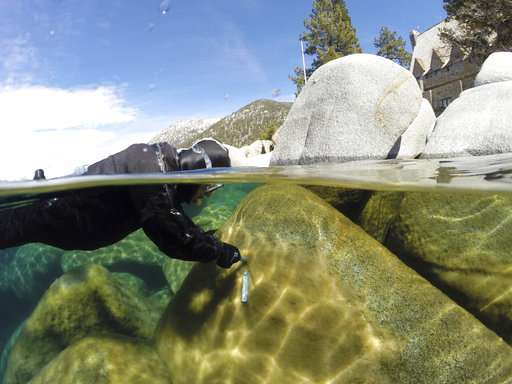 Climate change taking toll on clarity of Lake Tahoe water