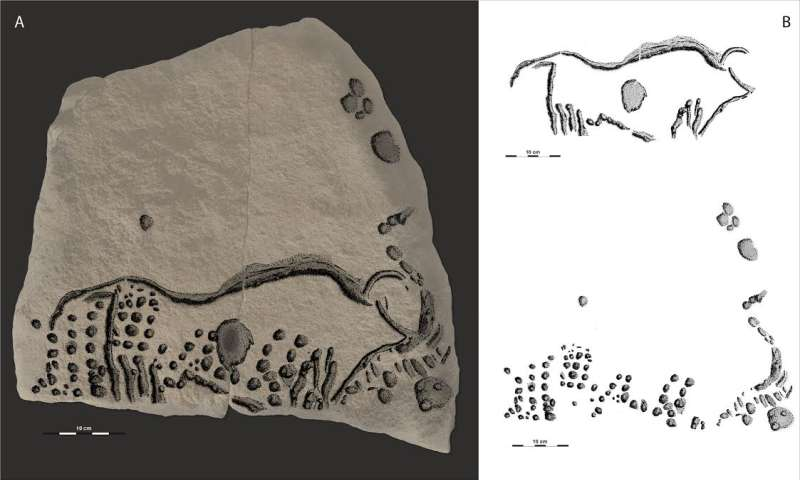 38,000 year-old engravings confirm ancient origins of technique used by Seurat, Van Gogh