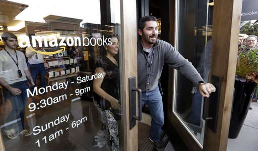 Amazon isn't technically dominant, but it pervades our lives