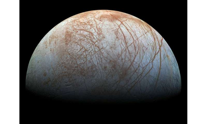 Astronomers detect hydrogen corona of Jupiter's moon Europa