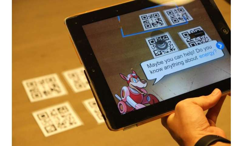 Augmented reality platform could help students discover STEM concepts through interactive experimentation