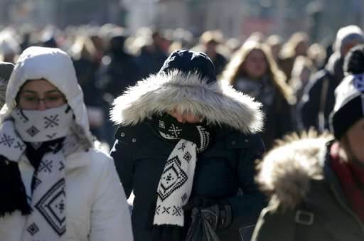 Bundle up: Bitter cold weather takes hold of northern US