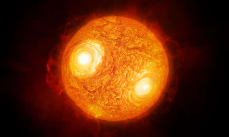 Closer look at red supergiant Antares suggests convection not enough to remove surface material