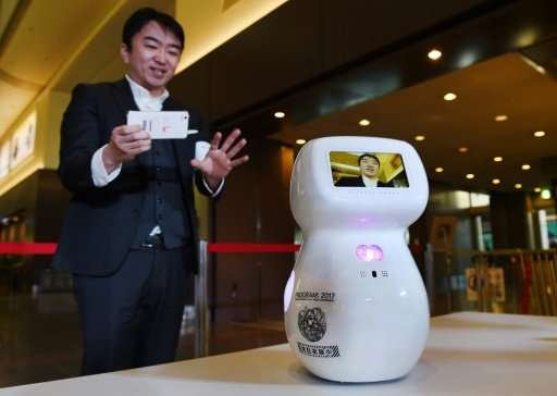 "Communication robot ""Cinnamon"" could be greeting visitors to the 2020 Olympics"