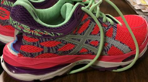 How camber in roads affects runners