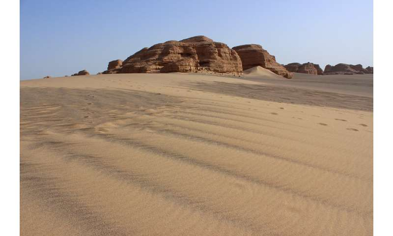 Human activities worsen air quality in Dunhuang, a desert basin in China