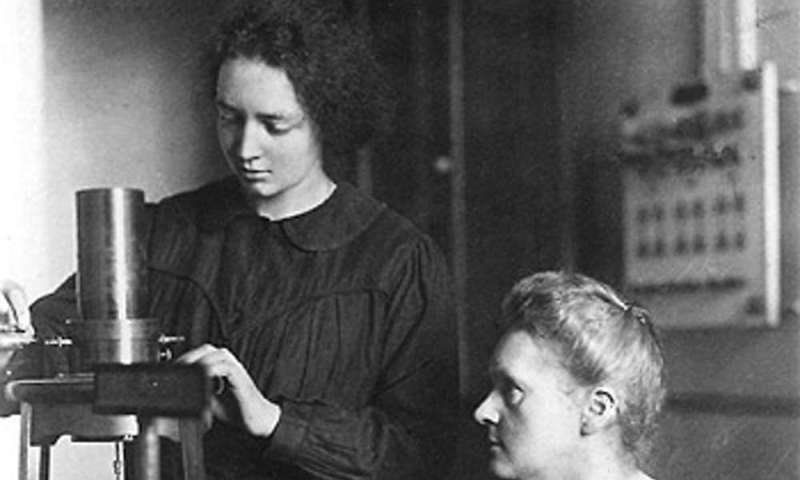 Marie curie x rays