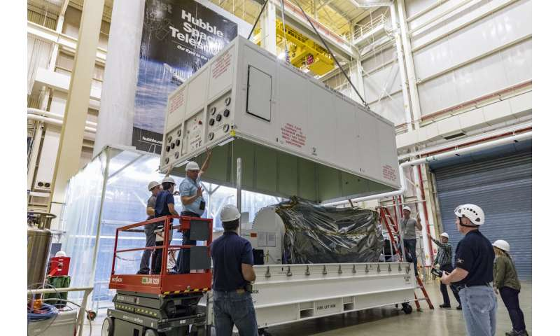 Parker solar probe comes to NASA Goddard for testing