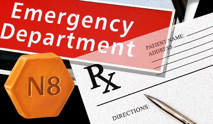 Patients with opioid addiction benefit from treatment initiated in ED