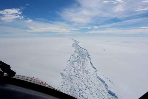 Scientists say massive iceberg has broken off in Antarctica