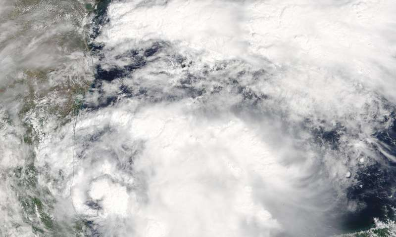 NASA sees Tropical Storm Katia develop near Mexico's east coast