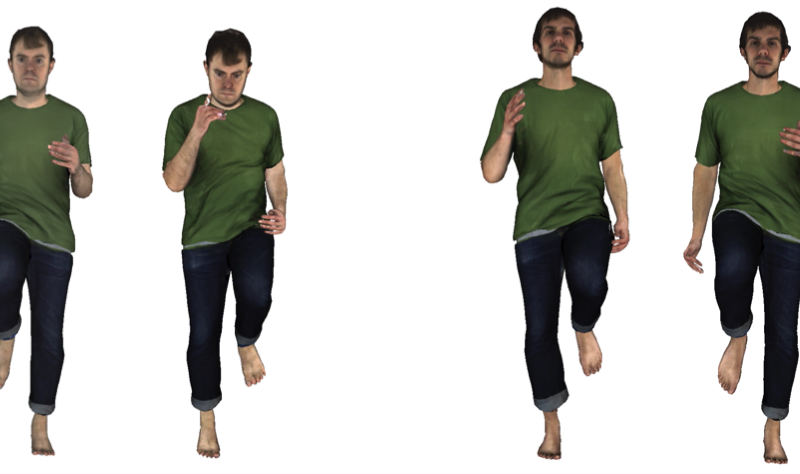 4D Movies Capture People in Clothing, Creating Realistic Virtual Try-on