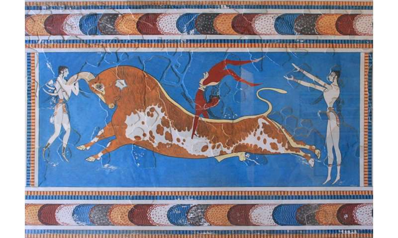 Ancient DNA reveals origins of the Minoans and Mycenaeans