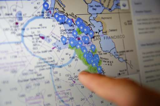 California crabbers use GPS to find whale-killing gear