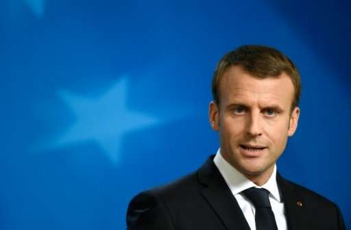 French President Emmanuel Macron wants to increase taxes on mega tech firms in the European Union
