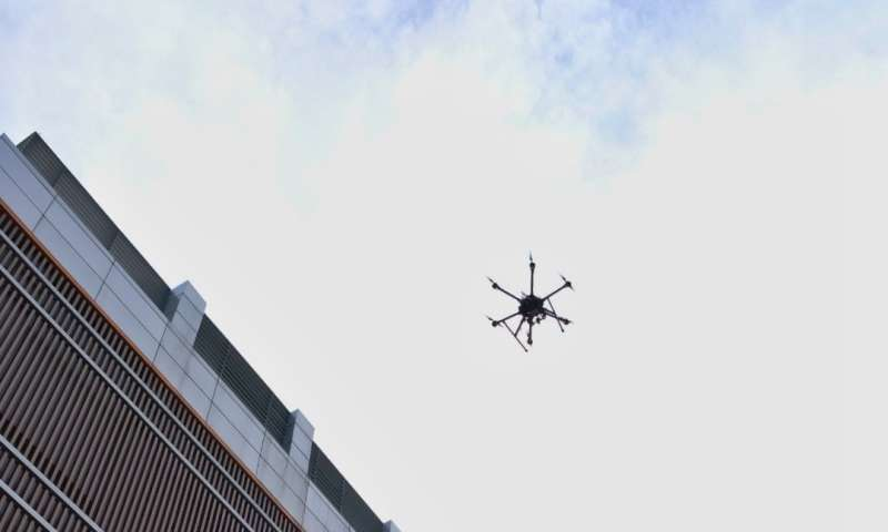 NTU Singapore uses 4.5G mobile phone network for drone traffic management