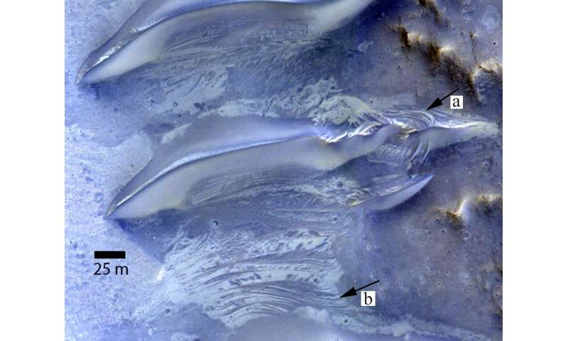 Researchers pinpoint watery past on Mars