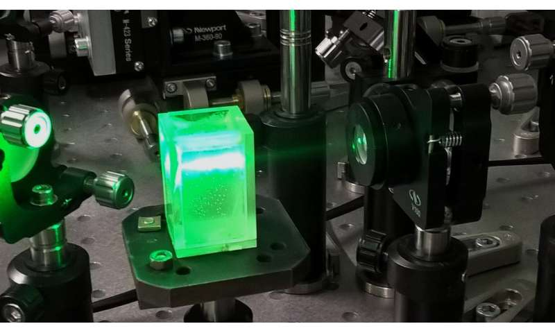 Scientists engaged holography in fast estimating particles in media