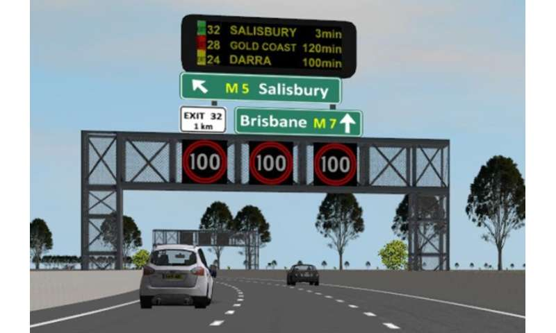 Study looks at impact of information overload from road signs