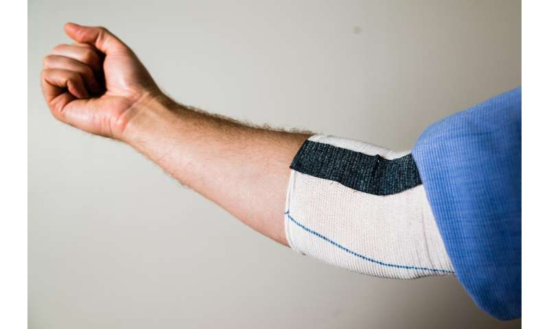 'Knitted muscles' provide power