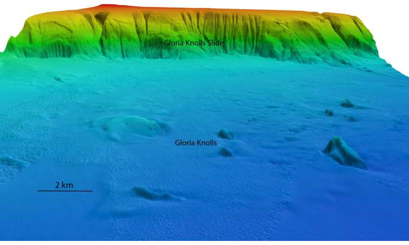 Largest undersea landslide revealed on the Great Barrier Reef