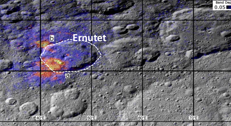 Scientists study geology of Ceres to understand origin of organics