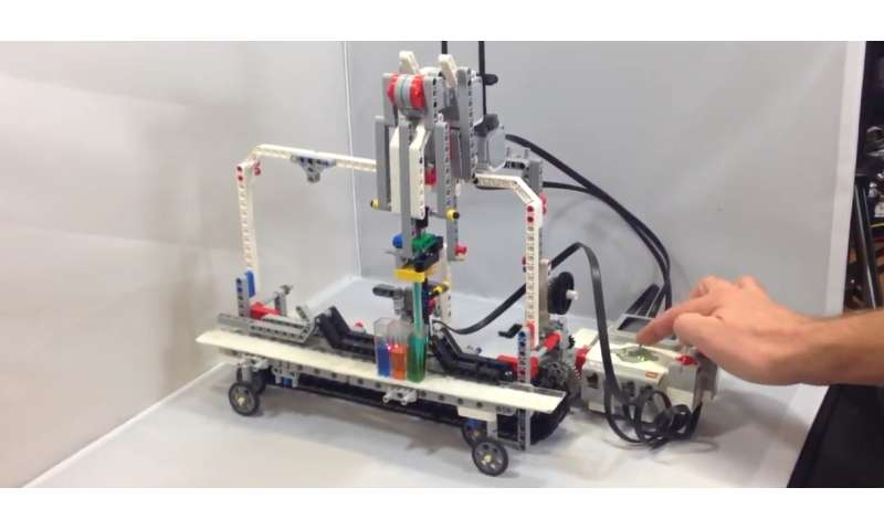 Researchers adapt a DIY robotics kit to automate biology experiments