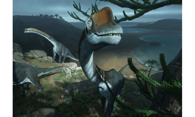 Earliest relative of Brachiosaurus dinosaur found in France