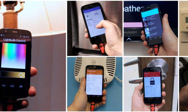 Carnegie Mellon team hones tap concept for IoT items, shows prototype phone