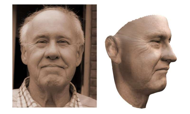 3-D models of faces developed by researchers could help in reconstruction surgery