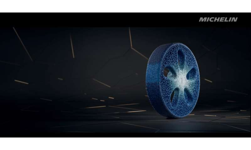 Michelin takes wraps off connected tire concept, 3D printing, bio-sourced materials in the mix