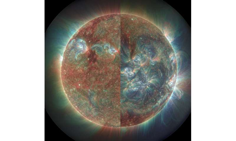 Data from NASA's Solar Dynamics Observatory offer clues about sun's coronal irradiance