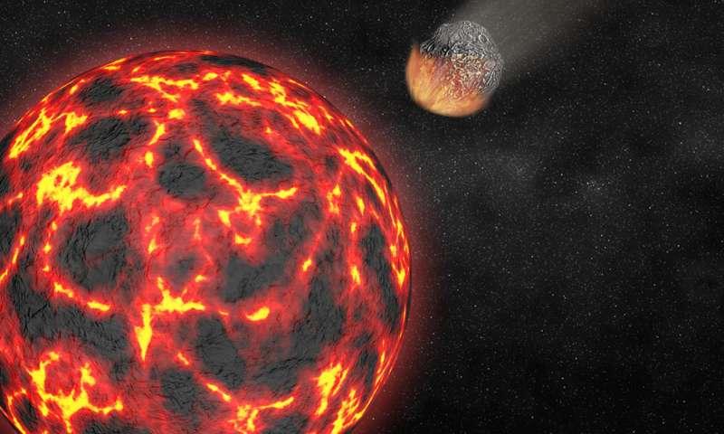Gallium in lunar samples explains loss of moon's easily vaporized elements