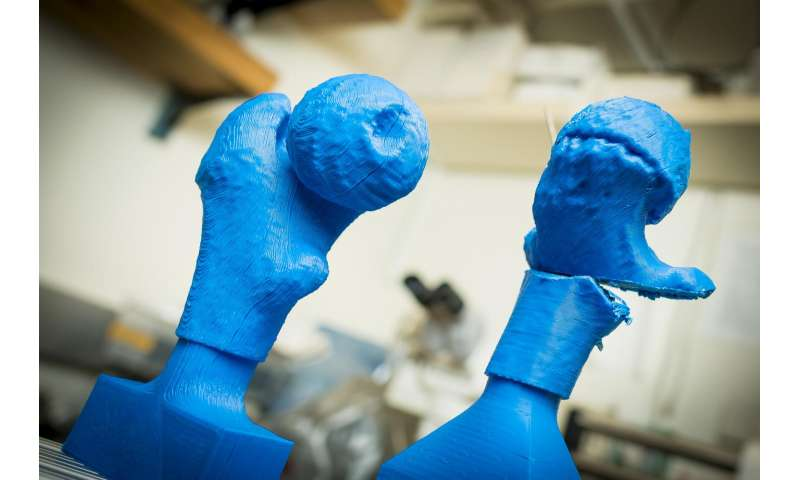 Engineers harness the power of 3-D printing to help train surgeons, shorten surgery times