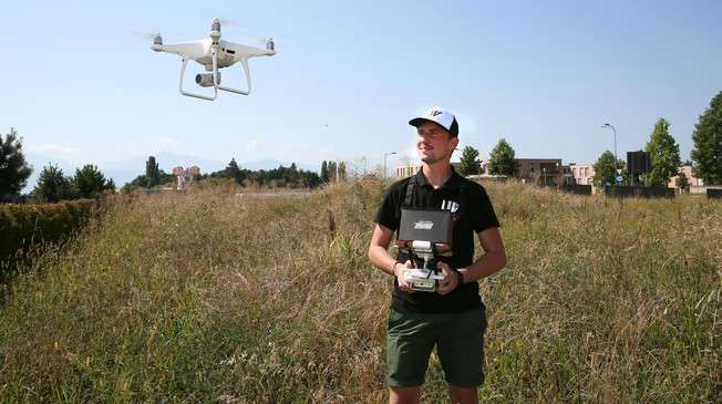 A drone to rescue fawns