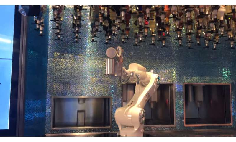 Getting well-oiled: booze in the age of the robo-barman