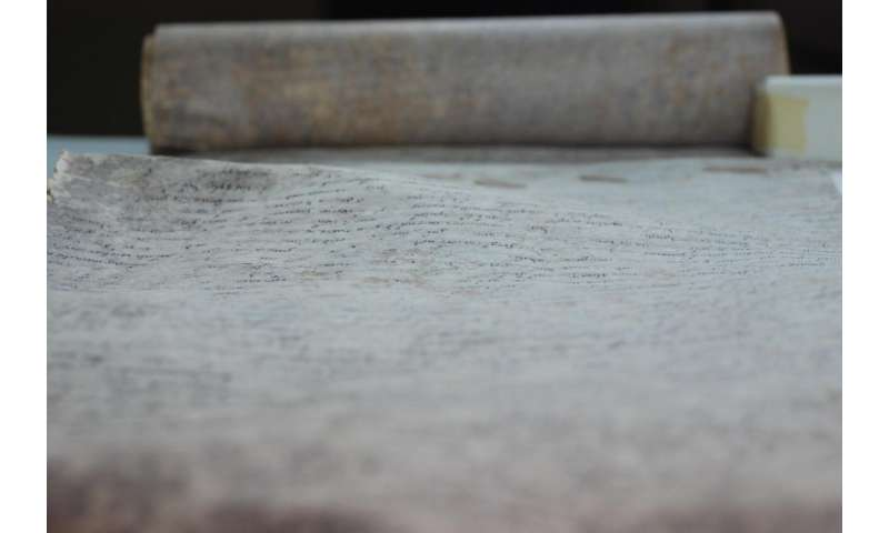 Scientists nail vandals of 800-year-old scroll