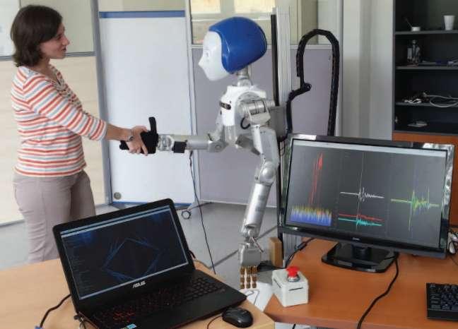Handshake team is focused on human-robot interactions