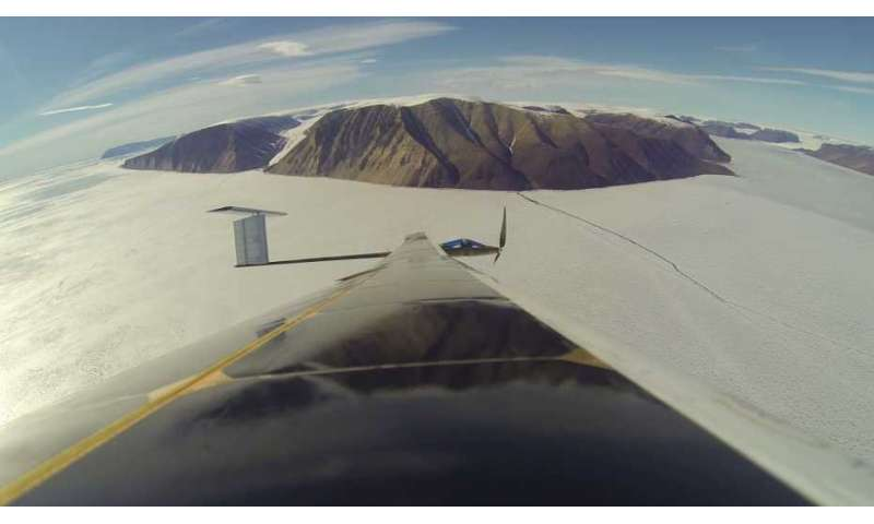 When solar-powered drones meet Arctic glaciers