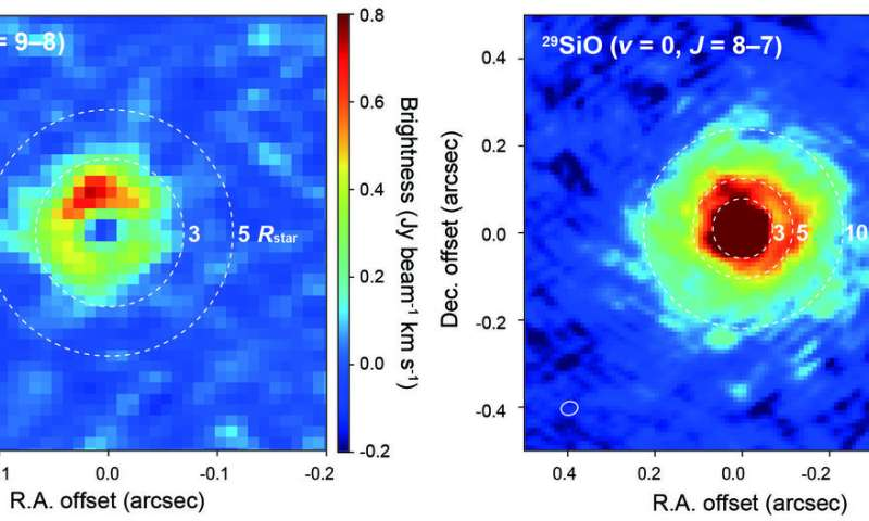 Study of W Hydrae suggests condensed aluminum oxide dust plays key role in accelerating stellar wind