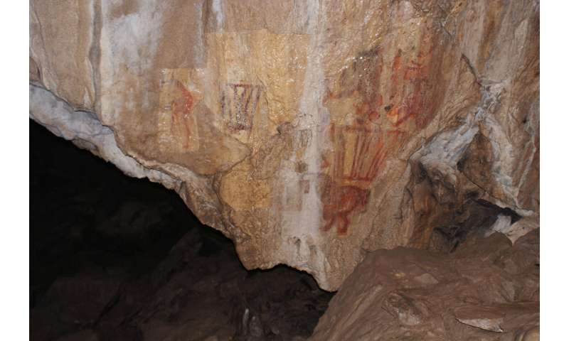 Scientists have discovered an Upper Paleolithic cave painting of a camel in the Ural Mountains