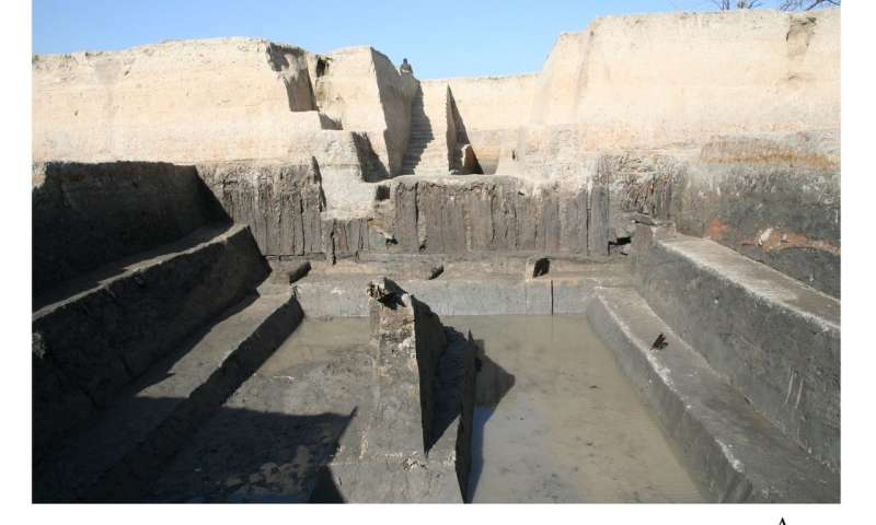 Earliest example of large hydraulic enterprise excavated in China