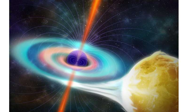 Black holes' magnetism surprisingly wimpy