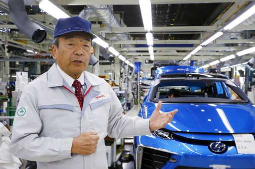 Amid global electric-car buzz, Toyota bullish on hydrogen