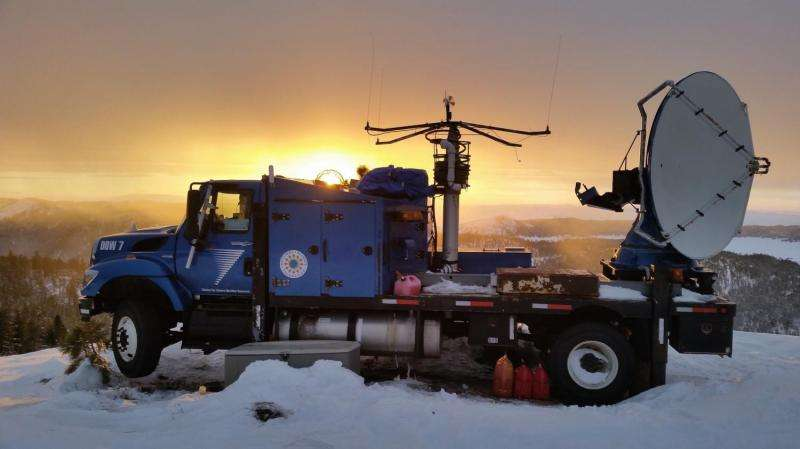 Atmospheric scientists wrap up winter cloud-seeding project in southwestern Idaho